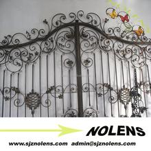Iron Gate Metal Gate Designs For Home, Vila, Park, Garden/Wrought Steel Gate Designs