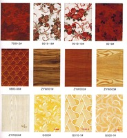 2015 modern PVC picture gypsum ceiling tile designs