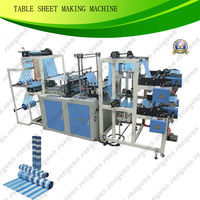 2013 Ethiopia Best Sale Fully Automatic bag Making Machine FQCD800 / Roll width 680mm/ table cover / garbage bag on roll