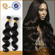2015 Product Wholesale 7A Double Weft 100% Raw Virgin Unprocessed angola hair