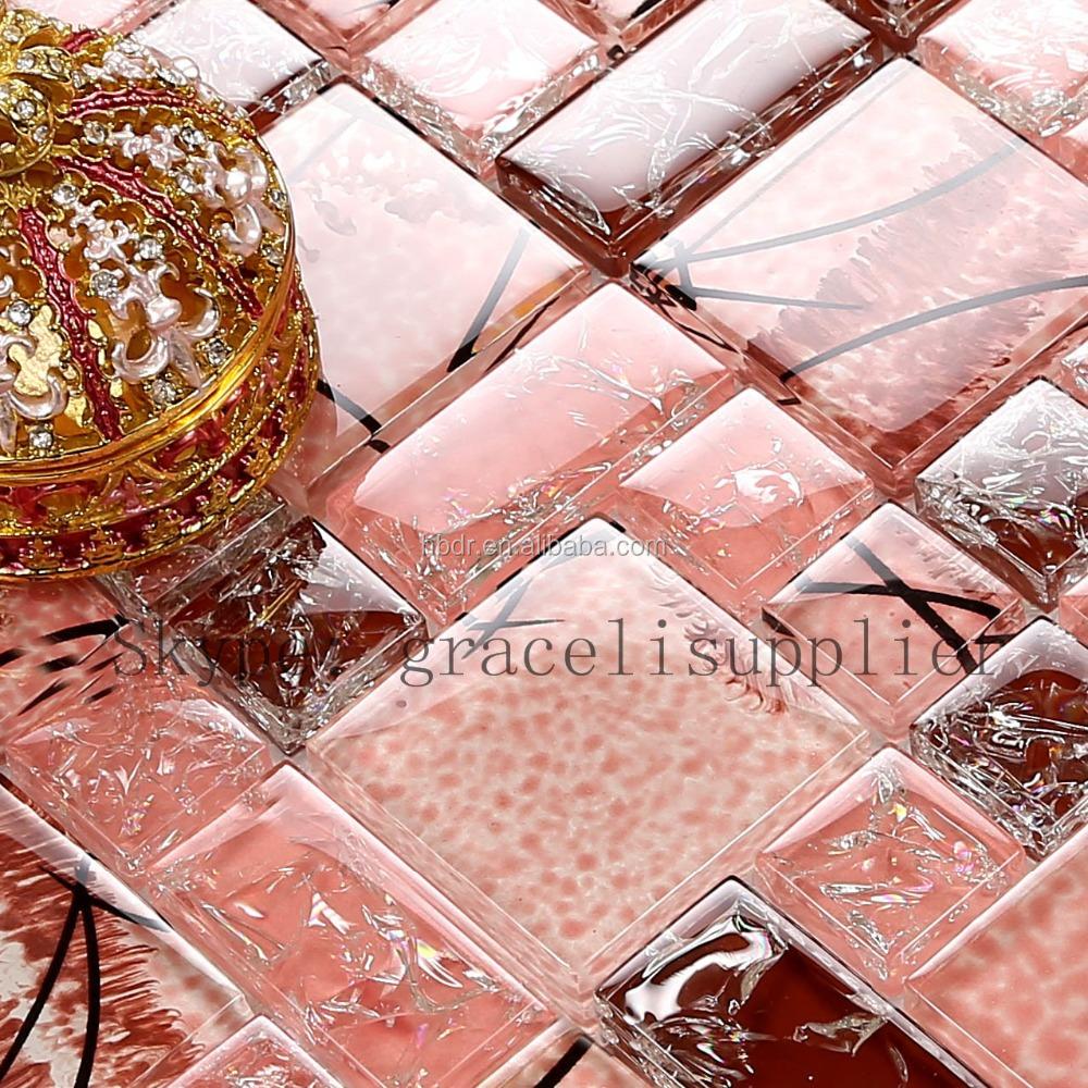 Mooie chinese zelfklevende polijsten mozaïek aangepaste ontwerpen ...