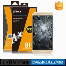 Brand Vmax Ultra Clear 9H Mobile Phone Tempered glass screen protector for Huawei G8/ tempered glass for Huawei G8