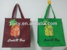 Custom print cola drinking polyester cooler bag