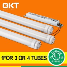 LED T8 led tube lamp 4ft 18W 100-277VAC 110lm/w 5 years warranty cULus DLC approval