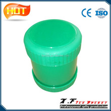 China Manufacturer Greeen Rotated Plastic Bar Dice Cup