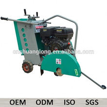 "7"" gasoline 500mm walk behind electric concrete saws with water tank"