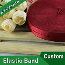 factory supply wholesale superior quality fold over elastic webbing for garments
