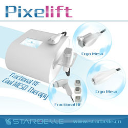 Cryo Mesotherapy Electroporation Pixelift rf home use Cold &Hot Therapy wrinkle remover