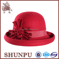 fashion walmart winter hats for ladies,felt Bavarian hat