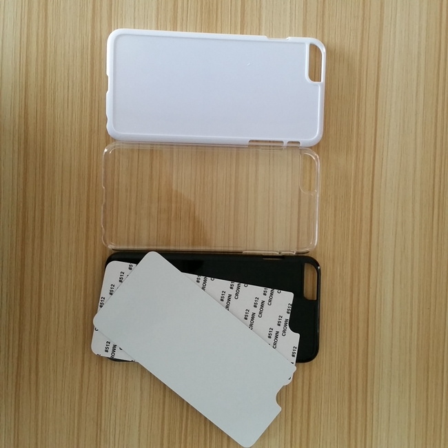 New Model For iphone6 plus pc material sublimation phone case,diy phone case