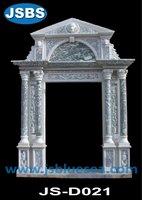 stone arch decorative door frame