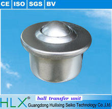 With ISO9001/CE certificate bolt fixings ball transfer unit for ball transfer table