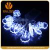 Santa Claus shape 1.5m 10L LED flashing string lights for Christmas decoration