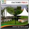 Aluminum Garden Wedding Reception White Pagoda Marquee Party Tent 6X6m for outdoor wedding party