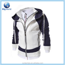 2015 Cotton Fleece quality plain hoodies for Men&plain white t shirts for mens&China Factory Custom Design Men T-Shirt