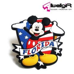 High quality florida Soft PVC Fridge Magnet