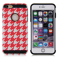 Sublimation TPU +PC hybird mobile phone case cover for iphone 6 iphone case