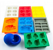 high quality silicone star wars ice cube tray