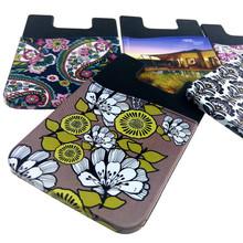 cheap sticky mobile phone pouch Cute Silicone Non-slip Phone Sticker