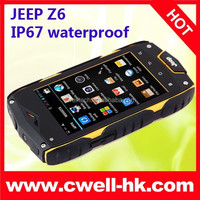 Wholesale Jeep Z6 Android Yxtel Car Shaped Mobile Phone MTK6572W Dual Core 512MB RAM 4GB ROM