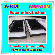 OEM wholesale Ellipse lash flat human hair extensions patch