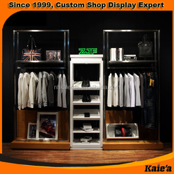 2015 cloth shop display furniture factory wholesale in china