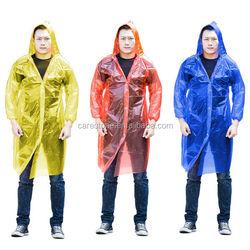 disposable PE rainwear