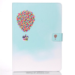 Fashion Stylish Fold Printed Leather Card Holder Wallet Stand Case Smart Cover For Apple iPad 6