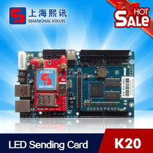 NEW product USB port 3G wireless led display control board work for outdoor Large led display