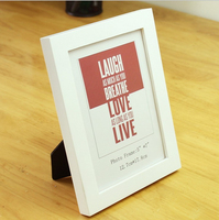 different designs wooden 2x3 widen and thicken picture frame stand