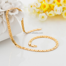 Wholesale 18K Italian Gold Chain Necklace Jewelry New Gold Chain Design For Men
