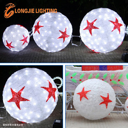 D:0.3m, 0.4m, 0.5m led ball light Christmas decorations