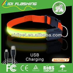 CE RoHS standard sex led dog collar for big dogs