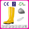 Waterproof yellow rain boots wholesale durable rubber rain boot