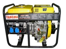 open type 3KW air cooled single cylinder 4 stroke engine portable power diesel generator