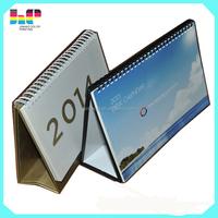 2016 promotion \cheap wholesale table ,desk standing calendar
