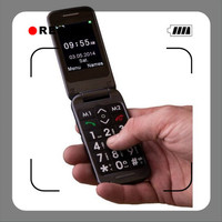 flip top mobile phones new bluetooth mini phone with high quality