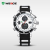 2015 WEIDE Men Sport LCD Display Analog Digital Silicone Watch