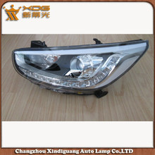 high quality and high power car accessary accent 14 head lamp