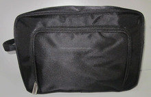 1680D Polyester Man Travel Cosmetic Bag With Front Pocket