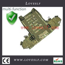High Quality Army Military Safety Vest Tactical Military Airsoft Molle Vest w/ Hydration Pocket Magazine Pouch