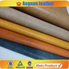 2016 -2017 Latest brush leather 100% pu synthetic leather in china