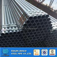 Hot Dip Galvanized Steel Pipe Packed by steel strip