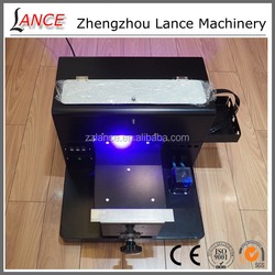 Hot sale La-P03 t-shirt/ phone case white ink t-shirt screen printing machine price with video
