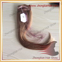 14inch Human Hair Color #16 Lace Grip for Kosher Wig Band Fall