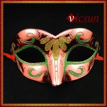 PAR-053 Yiwu Caddy Halloween carnival party venetian masquerade costume half face mask for dance, plastic mask