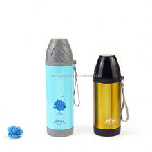 Custom advertising stainless steel vacuum flask