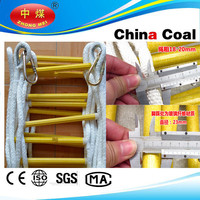 China coal group 2015 New Safety extendable ladder,fire escape rope ladder, fire escape extension ladders