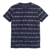 fashionable online shopping cheap printed stripe t shirt men