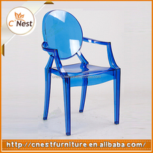 Wholesale colorful Replica Polycarbonate Louis Ghost Chair